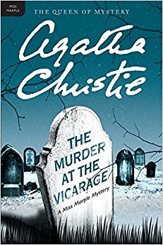 Murder at the Vicarage book cover